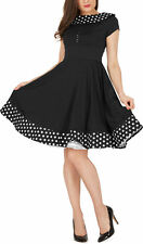 'Rhianna' Vintage Polka Dot Pin Up 1950's Rockabilly Swing Prom Dress