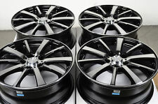 17 5x108 Black Wheels Fits Mercury Cougar Monterey Volvo Xc70 Xc90 Jaguar Rims