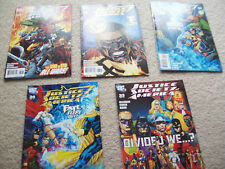 5 x justice society of america comics issues 33 34 35 38 39 dc comics