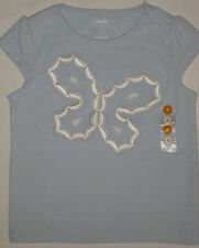 Gymboree Daisy Delightful Top Size 3 New Blue Butterfly Gem Tee Girls Shirt