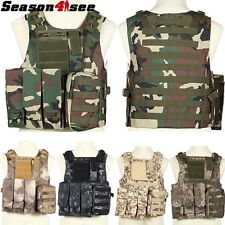 Airsoft Tactical Military Molle Carrier Strike Combat Vest Hunting CS Game