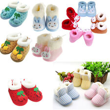 Winter Warm Infant Baby Shoes Walking Toddler Girls Boys Crib Shoes Soft Boots