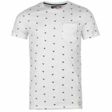 SoulCal Mens Eagle All Over Pattern T Shirt Casual Short Sleeve Crew Neck Tee