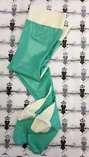X0269 Rubber LATEX stockings with Bows XS **Shown** RRP £89 ONE PAIR ONLY