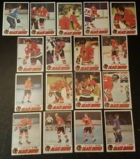 1977-78 OPC CHICAGO BLACK HAWKS Select from LIST NHL HOCKEY CARDS O-PEE-CHEE
