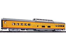 Walthers 18550 HO Union Pacific Columbine 85' ACF Dome Coach Lighted