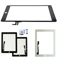 Touch Screen Glass Display Digitizer Lens Replacement For iPad air1/5 iPad 4/3/2