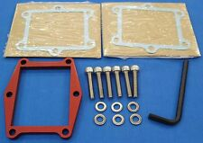 "HONDA ATC 250R ATC250R BDT BILLET 1/4"" REED SPACER PLATE KIT RED NEW FOR VF3"