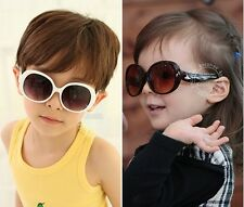 Super Cool Baby Boys Girls Kids Resin Sunglasses Plastic Frame Child Sunglass