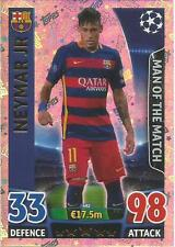 MATCH ATTAX CHAMPIONS LEAGUE 2015/16 MAN OF THE MATCH PICK THE ONES YOU NEED