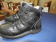 WSHD D94244-1112M Harley- Men's Downshift Shock ABS Black Leather 6-Inch Boots