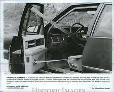 1987 Press Photo Oldsmobile Delta 88 Royale Brougham Sedan - spa66543