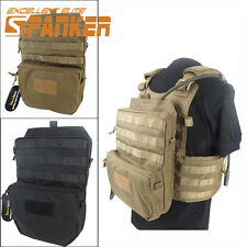 3L 1000D MOLLE Tactical Hydration Pouch Water Pack Bag Vest Hydration Backpack