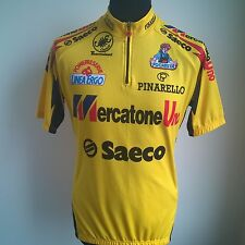 MERCATONE UNO SAECO 1995 VINTAGE CASTELLI CYCLING SHIRT JERSEY SIZE ADULT XL