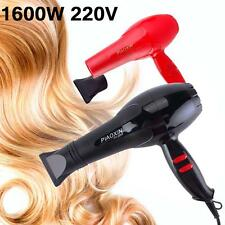 Hair Blow Dryer 1600W Heat Blower Fast Dryer Hot And Cold Wind Comb Makeup Salon