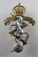 Military Cap Badge REME Royal Electrical Mechanical Engineers King's Crown
