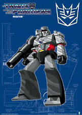 TRANSFORMERS ANIMATED ~ MEGATRON SCHEMATIC ~ 24x36 CARTOON POSTER G1 NEW/ROLLED!