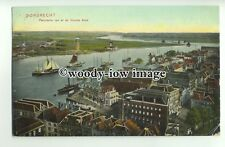 ft1462 - Netherlands - Dordrecht - View of Harbour - postcard