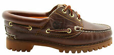 Timberland Womens Heritage Noreen 3 Eye Handsewn Boat Shoes Leather 51304 D79