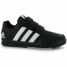 adidas Kids LK Turn 7 CF Trainers Boys Ortholite Hook and Loop Adifit Shoes