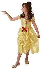 Childs Disney Fairytale Princess Belle Book TV Costume Outfit Age 3 - 8
