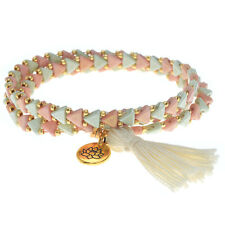Kheops Wrapped Tassel Bracelet Gold Lotus - Exclusive Beadaholique Jewelry Kit