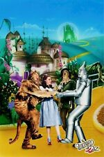 WIZARD OF OZ ~ VILLAGE CAST ~ 24x36 MOVIE POSTER ~ Judy Garland Emerald City