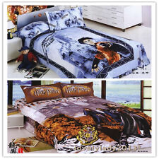 Harry Potter Single/Queen Size Bed Quilt/Doona/Duvet Cover Set 100%Cotton Linen
