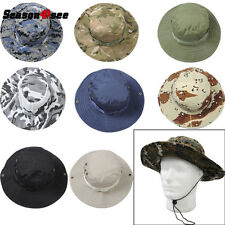Tactical Hunting Fishing Outdoor Boonie Hat Military Army Bucket Hats Cap