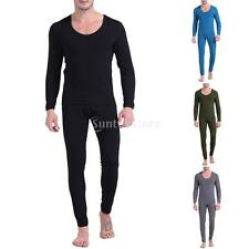 Mens Thermal Underwear Set Long Johns Mens Thermal Stay Warm