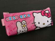 D34 HELLO KITTY COSMETIC MAKE UP POUCH PEN PENCIL HAND BAG STATIONERY CASE