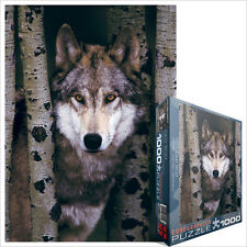 Gray Wolf 1000 Piece Jigsaw Puzzle by Eurographics