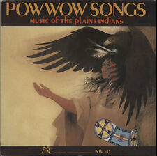 Pow Wow Songs: Music Of The ... Various-World Music vinyl LP  record USA