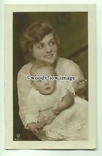 b3180 - Film & Stage Actress - Gladys Cooper & Son John - postcard