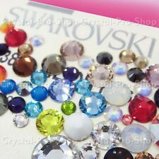 20ss Genuine Swarovski Hotfix Iron On Rhinestone nail Crystal 5mm ss20 setHC