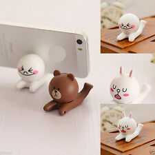 Cute Universal Cell Phone Cartoon Doll iPhone Cell Phone Desk Stand Holder Newly