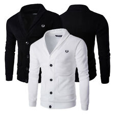 New Handsome Hot Sale Men's Cardigan Sweater Coat Slim Fit Knitting Sweater