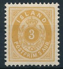 [31327] Iceland 1882 Good stamp Very Fine MH