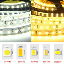 5M SMD RGB 5050/3528/5630 300LEDs Cool Warm White Waterproof Strip Light