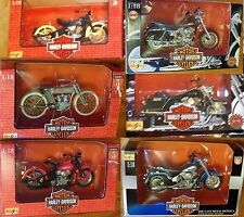 Maisto Harley-Davidson Diecast Motorcycles - Pick From Several Models New MIB