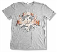 Jason Aldean My Kinda Party 2011 Tour Little Rock AR Show Grey Mens T Shirt New