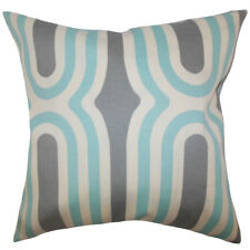 The Pillow Collection Persis Geometric Throw Pillow