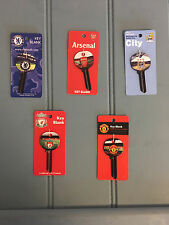 Football Key Blank Chelsea Arsenal Manchester City Liverpool Manchester United