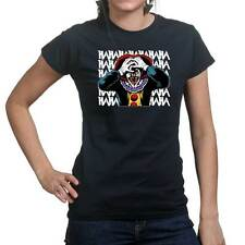 Laughing Clown Scary Halloween Costume Ladies T shirt Tee Top T-shirt