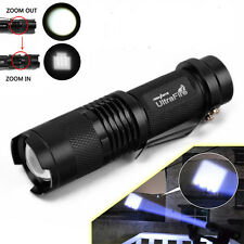 Ultrafire 5000LM Zoomable CREE XM-L T6 LED Flashlight Torch Super Bright Light Q