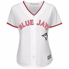 "Toronto Blue Jays Majestic Athletic ""Canada Day"" Cool Base MLB Jersey Women's"