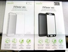New Moshi iVisor Screen Protector for Samsung Galaxy S6 Edge -White/Black