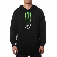 Fox Racing Monster Zebra Pullover Hoody Black