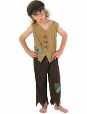 Child Poor Victorian Boy Kids Fancy Dress Outfit Book Day Week Costume