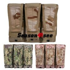 Emerson Tactical MOLLE Triple 5.56 223 Mag Magazine Pouch Hunting Holster 3Color